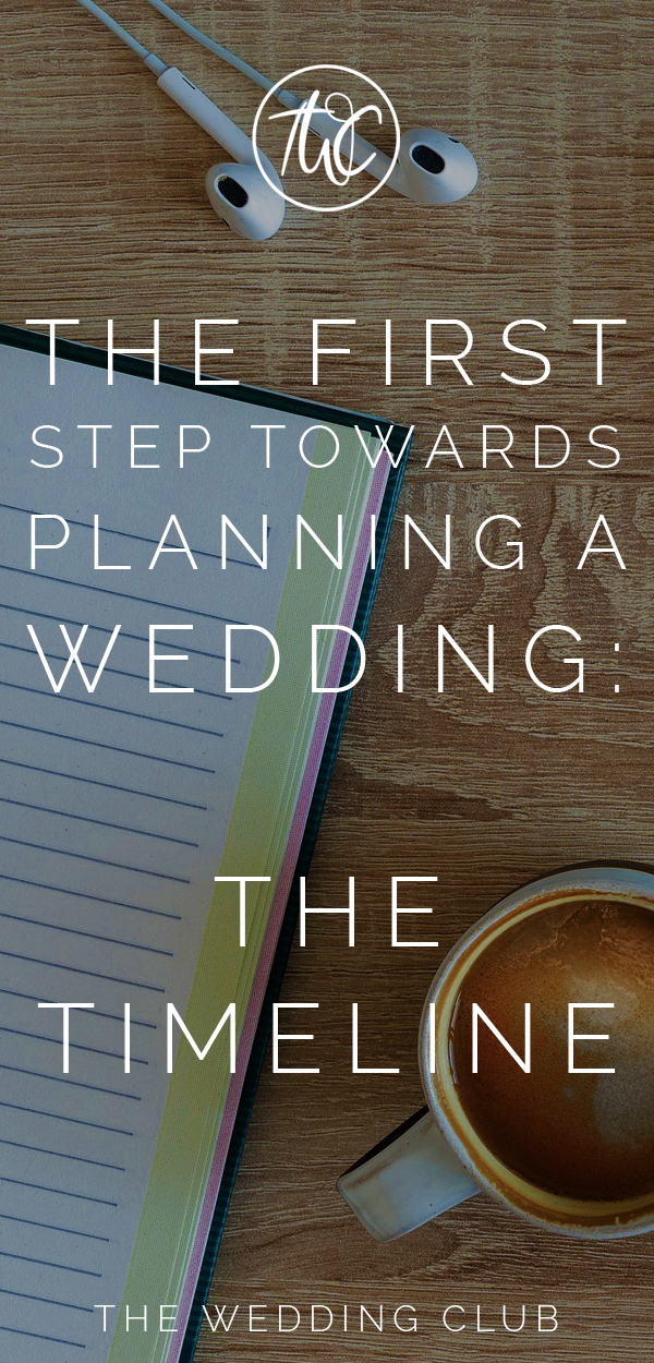 The First Step Towards Planning A Wedding Timeline Your Is One