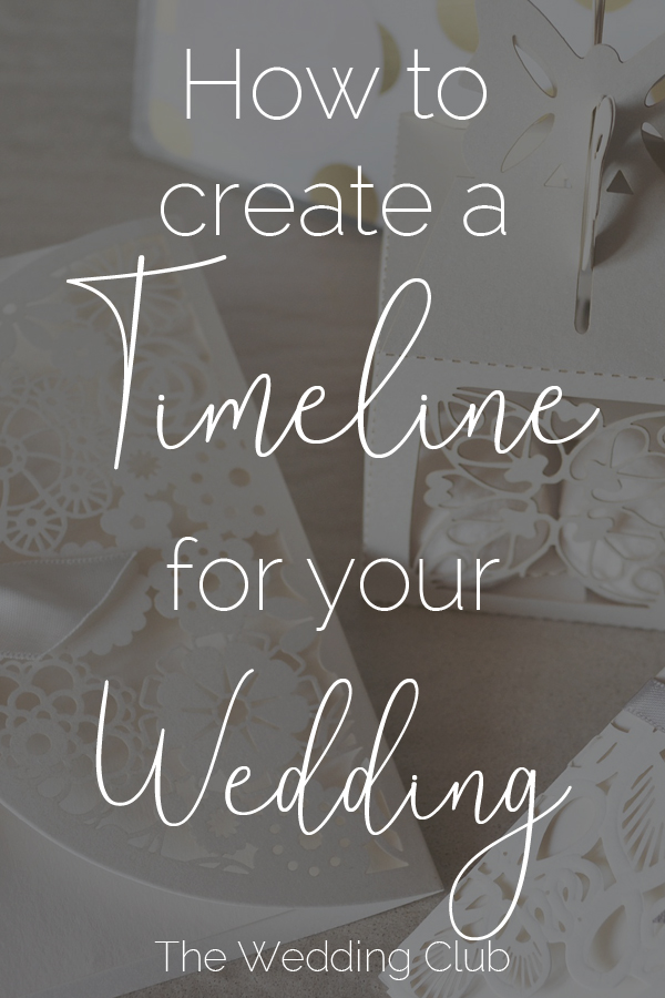 The first step towards planning a wedding: the timeline. Your wedding timeline is one of the most important tools to use to plan your own wedding. It will help you to plan exactly what is needed, and when. Read this article for more information. #timeline #wedding #planning
