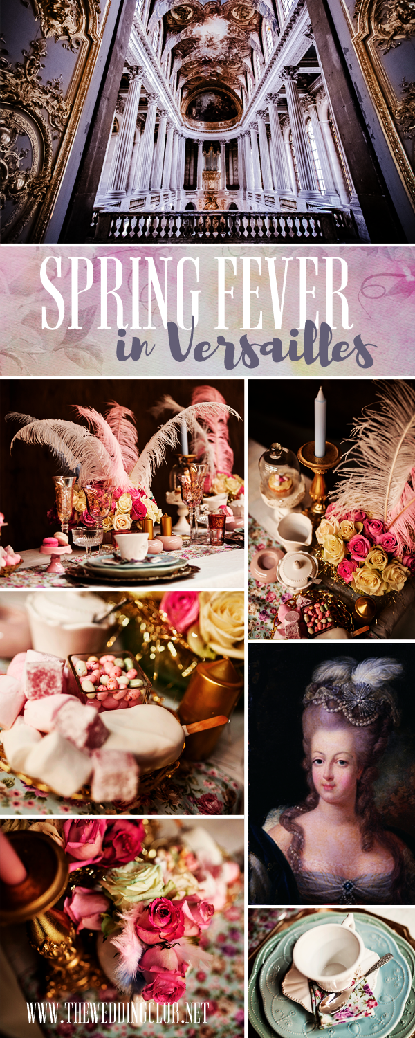 Spring Fever in Versailles - French Wedding Theme