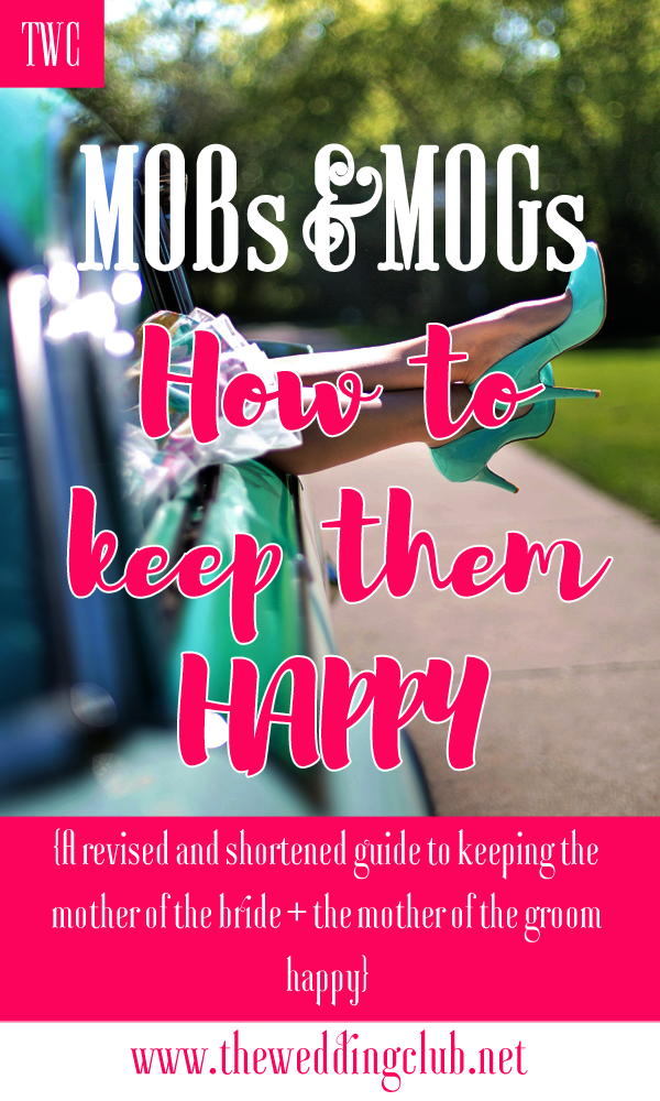 MOBs and MOGs: How to keep them happy