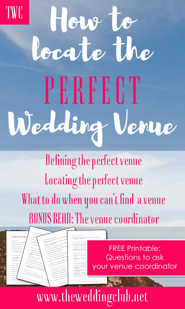 How To Find The Perfect Wedding Venue Coordinator Versus Planner Free Printable
