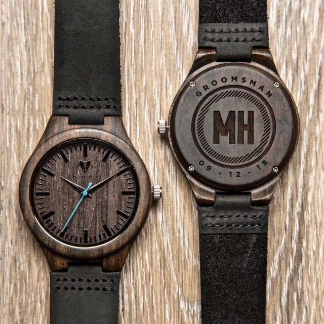 Personalized Wooden Watch by BadgerWatches