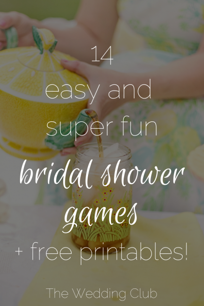 photo regarding Put a Ring on It Bridal Shower Game Free Printable identified as 14 Uncomplicated and tremendous enjoyment Bridal Shower Online games + Free of charge Printables