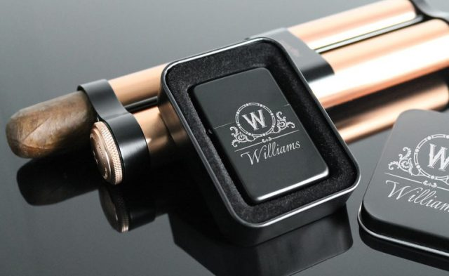 Personalized lighter by MagicWoodShop