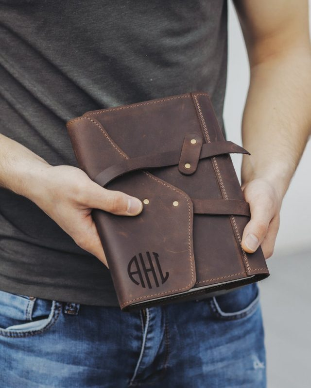 Refillable Leather Journal by ThisIsLeather