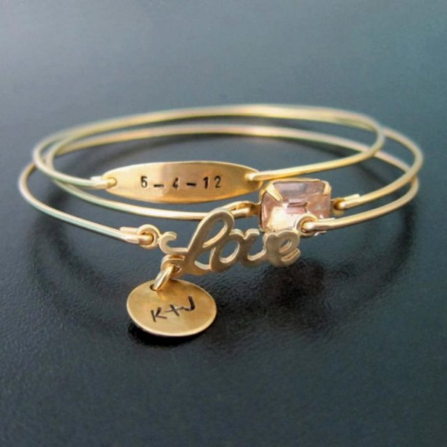 Personalized Wedding Jewelry by FrostedWillow