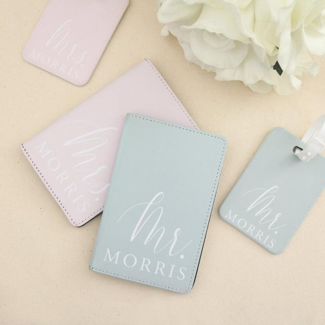 Personalized Passport and Luggage Tag by ThreeTwo1