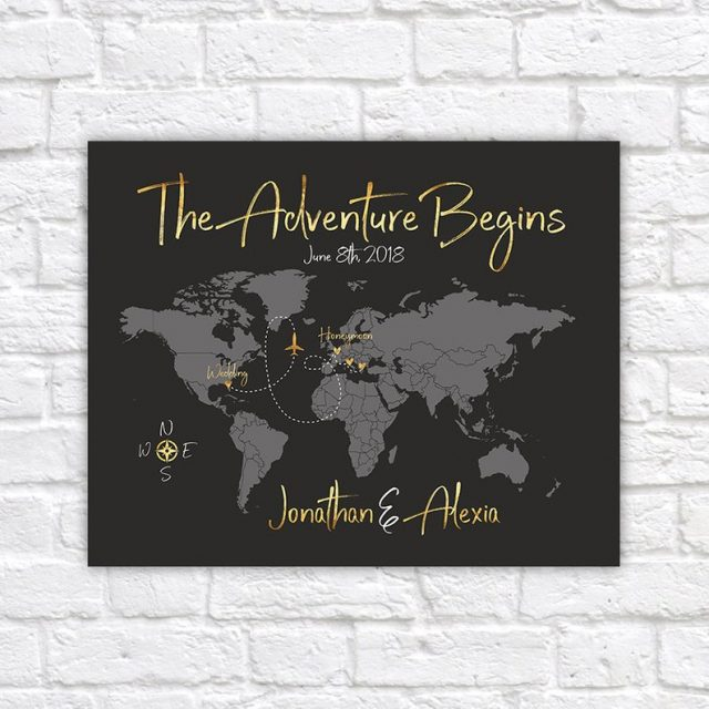 The Adventure Begins Poster by WanderingFables