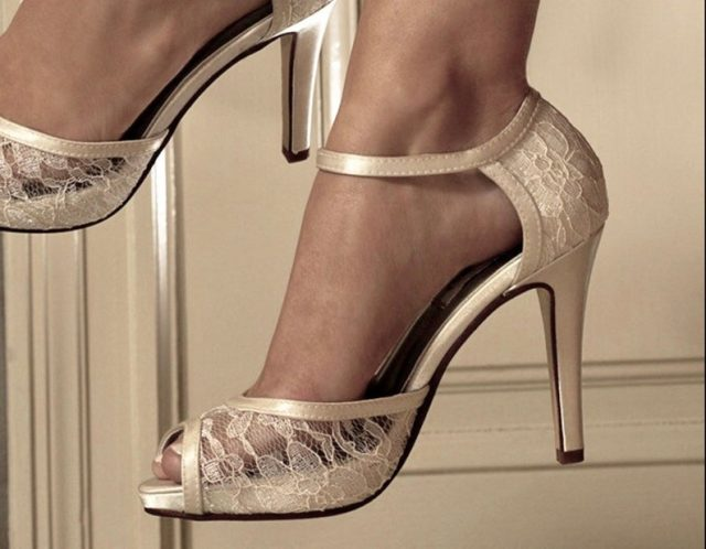 Women's Bridal Shoes by Pink2Blue