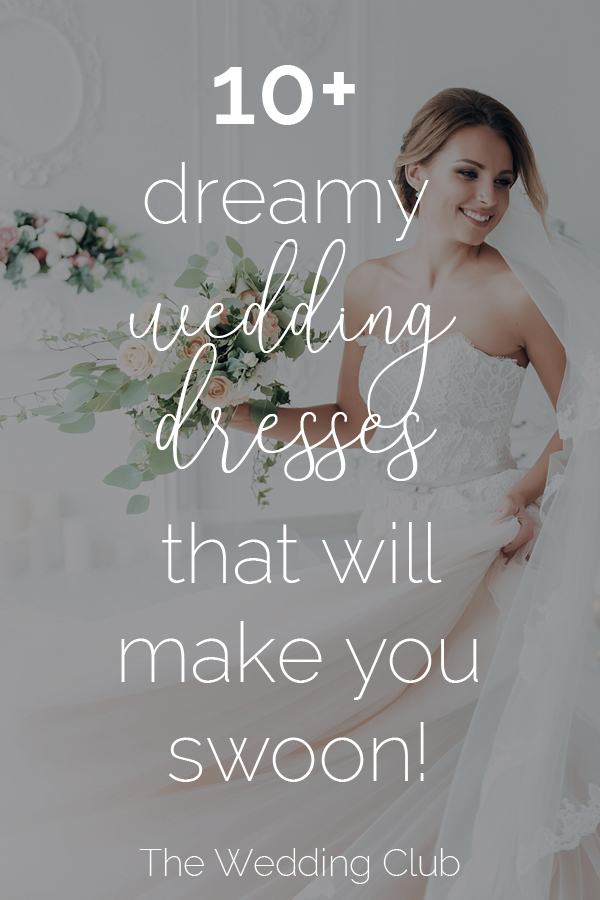 10+ dreamy wedding dresses that will make you swoon! These are some of the best places to shop online for your wedding dress. Have a look at these gorgeous dresses that will surely stop the show! #weddings #weddingdresses #weddinggowns