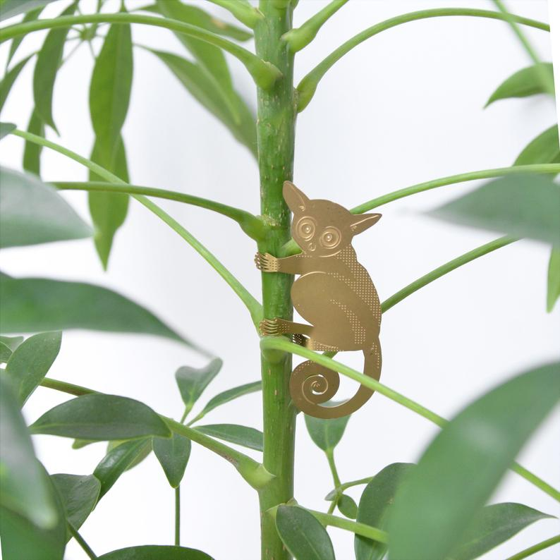 Plant Animals: Adorable creature decorations for your houseplants - hanging Plant gang
