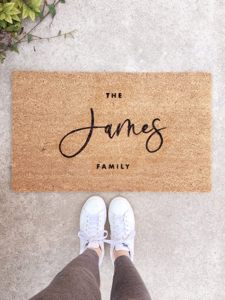 Custom Doormat- personalized doormat, Last Name Doormat, Welcome Mat, Name Doormat, Custom Wedding Gift, Housewarming Gift